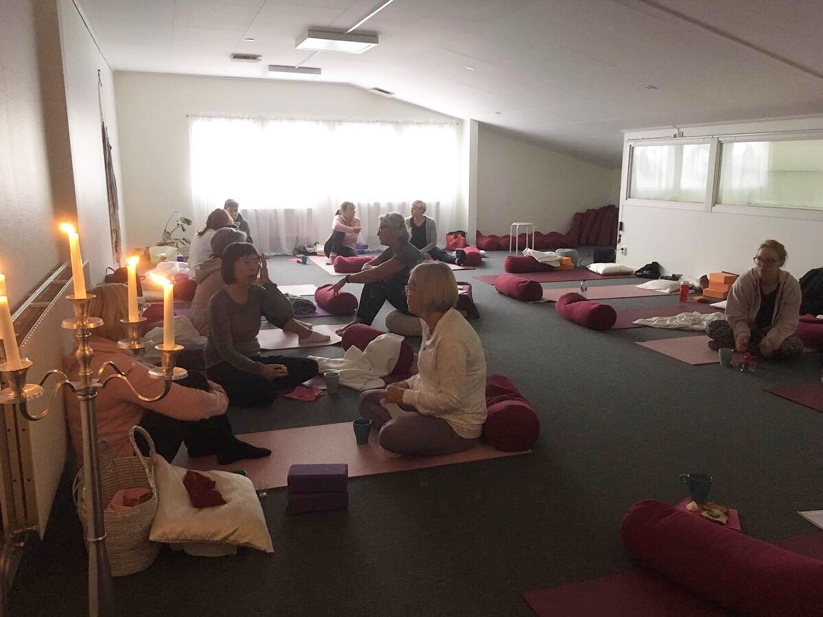 Workshop i yogastudion